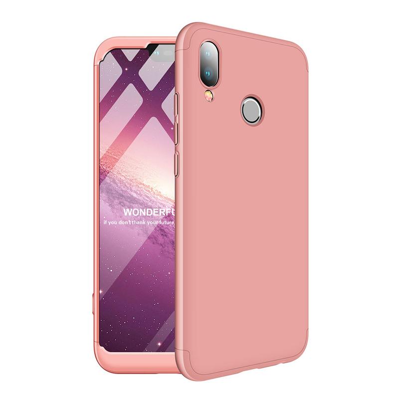 Husa Huawei P20 Lite GKK 360 Full Cover Roz