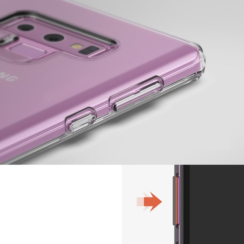 Husa Samsung Galaxy Note 9 Ringke Air - Clear