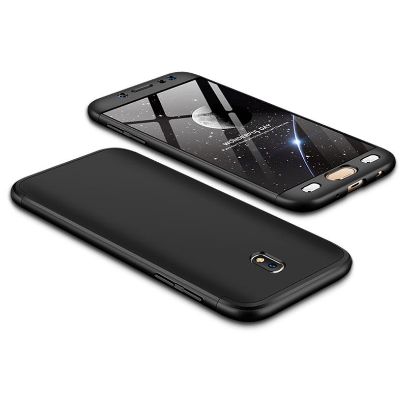 Husa Samsung Galaxy J5 2017 J530, Galaxy J5 Pro 2017 GKK 360 Full Cover Negru