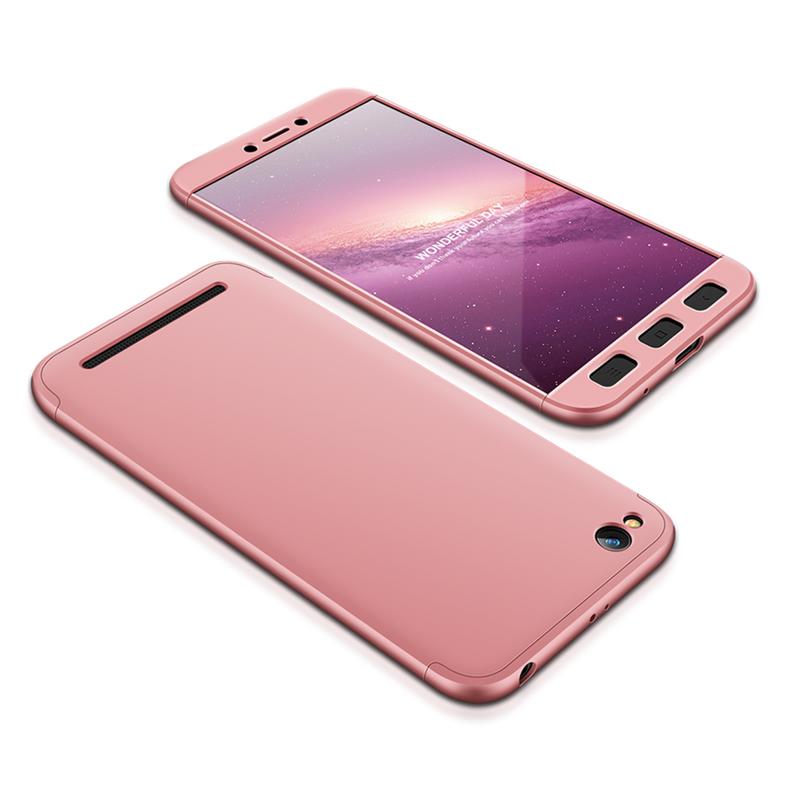 Husa Xiaomi Redmi 5A GKK 360 Full Cover Rose Gold