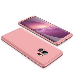 Husa Samsung Galaxy S9 GKK 360 Full Cover Rose Gold