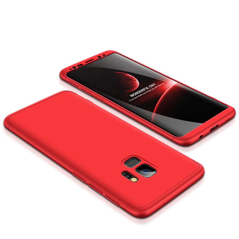 Husa Samsung Galaxy S9 GKK 360 Full Cover Rosu