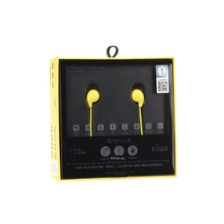 Casti In-Ear Cu Microfon WK-Design WI200 - Yellow