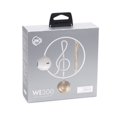 Casti In-Ear Cu Microfon WK-Design WE300 - Auriu