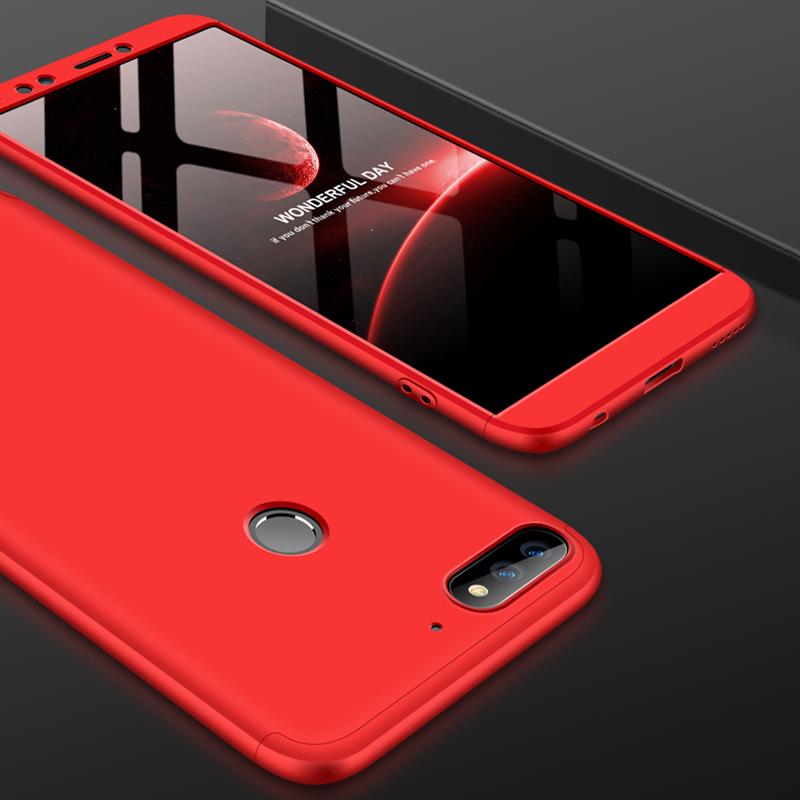 Husa Huawei Y7 Prime 2018 GKK 360 Full Cover Rosu