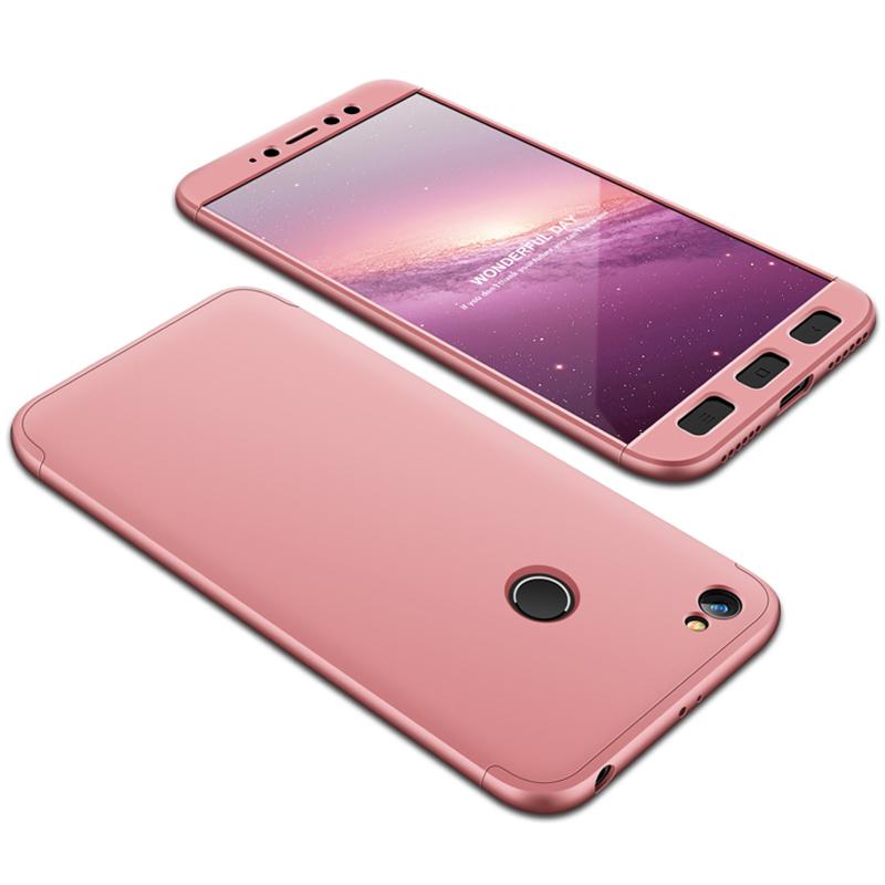 Husa Xiaomi Redmi Note 5A GKK 360 Full Cover Rose Gold