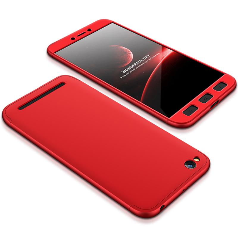 Husa Xiaomi Redmi 5A GKK 360 Full Cover Rosu