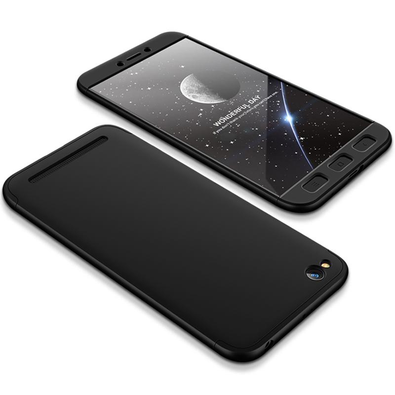 Husa Xiaomi Redmi 5A GKK 360 Full Cover Negru