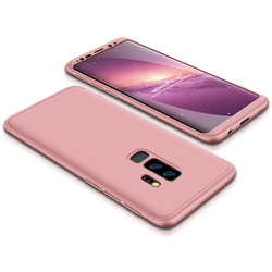 Husa Samsung Galaxy S9 Plus GKK 360 Full Cover Rose Gold
