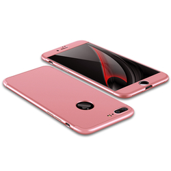 Husa Apple iPhone 7 Plus GKK 360 Full Cover Rose Gold