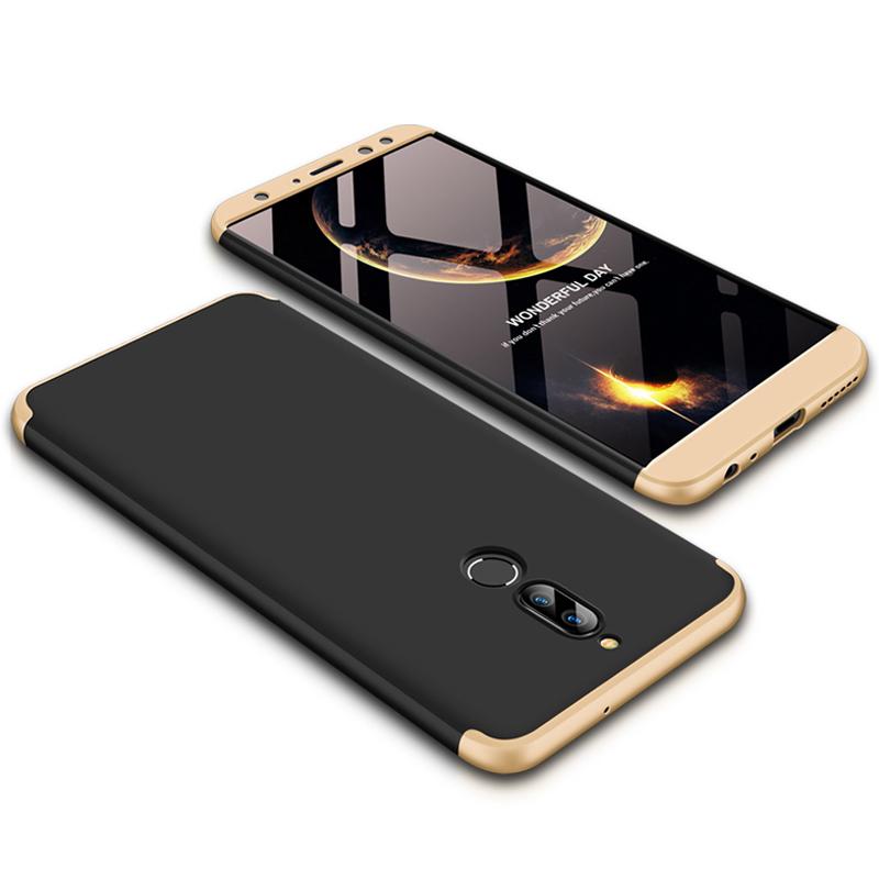 Husa Huawei Mate 10 Lite GKK 360 Full Cover Negru-Auriu