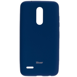 Husa LG K11 Roar Colorful Jelly Case - Albastru Mat