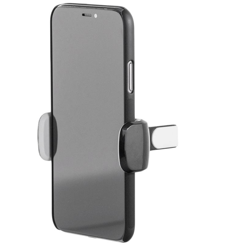 Suport Auto Telefon SILK Pentru Grila Ventilatie - Negru - Alb
