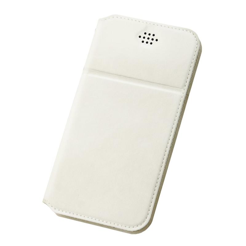 Husa Dux Ducis pentru telefoane intre 5.5 - 6.0 inch - Flip Alb