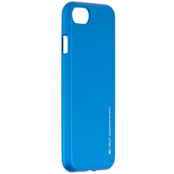 Husa iPhone 7 Mercury i-Jelly TPU - Blue