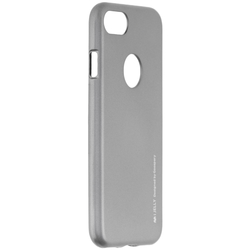 Husa iPhone 7 Mercury i-Jelly TPU - Grey