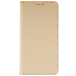 Husa Smart Book Samsung Galaxy J3 2018 Flip Auriu