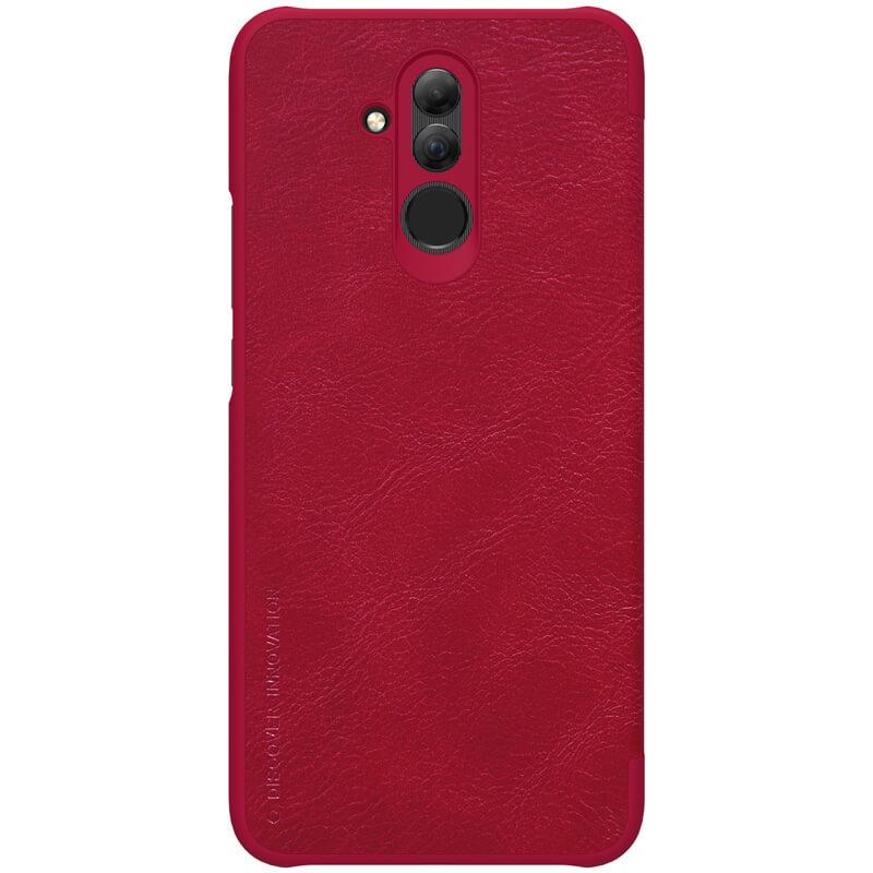 Husa Huawei Mate 20 Lite Flip Nillkin QIN Rosu