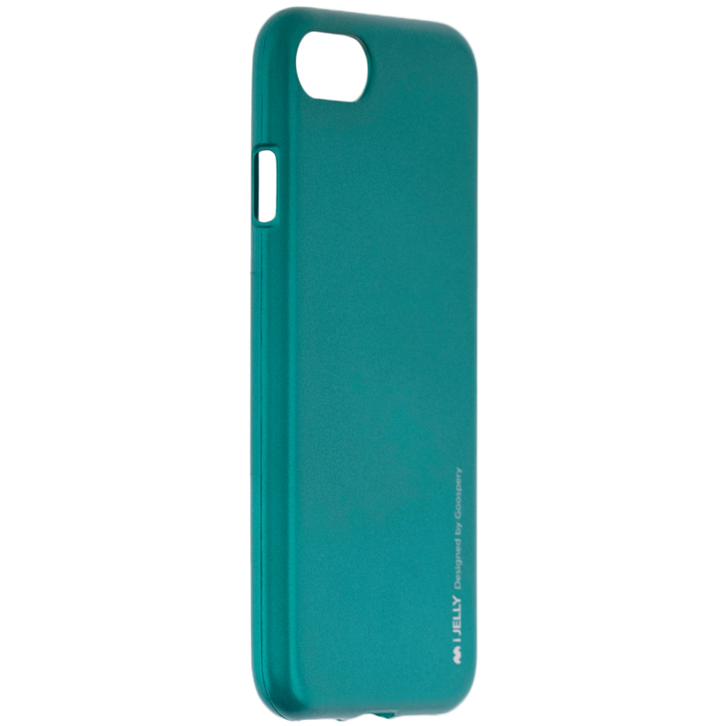 Husa iPhone 7 Mercury i-Jelly TPU - Green