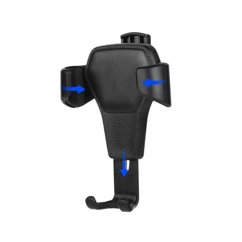 Suport Grila Ventilatie H01 Gravity Pentru Telefon - Negru
