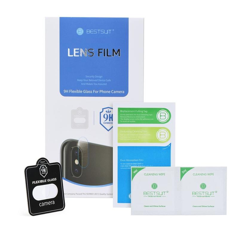 Folie Protectie Camera Spate iPhone XS Nano Flex 9H