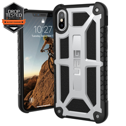 Husa iPhone XS UAG Monarch - Platinum