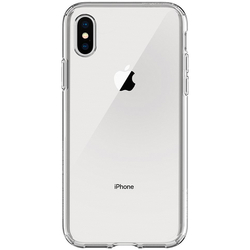 Bumper iPhone XS Spigen Liquid Crystal - Clear
