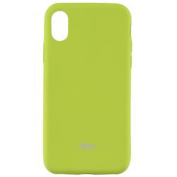 Husa iPhone XS Roar Colorful Jelly Case - Verde Mat