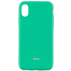 Husa iPhone XS Roar Colorful Jelly Case - Mint Mat