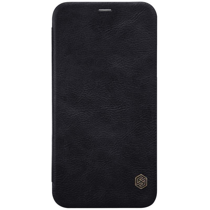 Husa iPhone XS Flip Nillkin QIN Negru