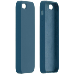 Husa iPhone 5 / 5s / SE Silicon Soft Touch - Albastru