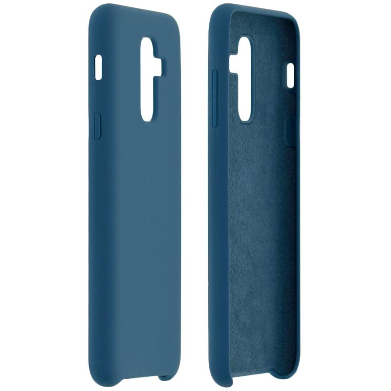 Husa Samsung Galaxy A6 Plus 2018 Silicon Soft Touch - Albastru