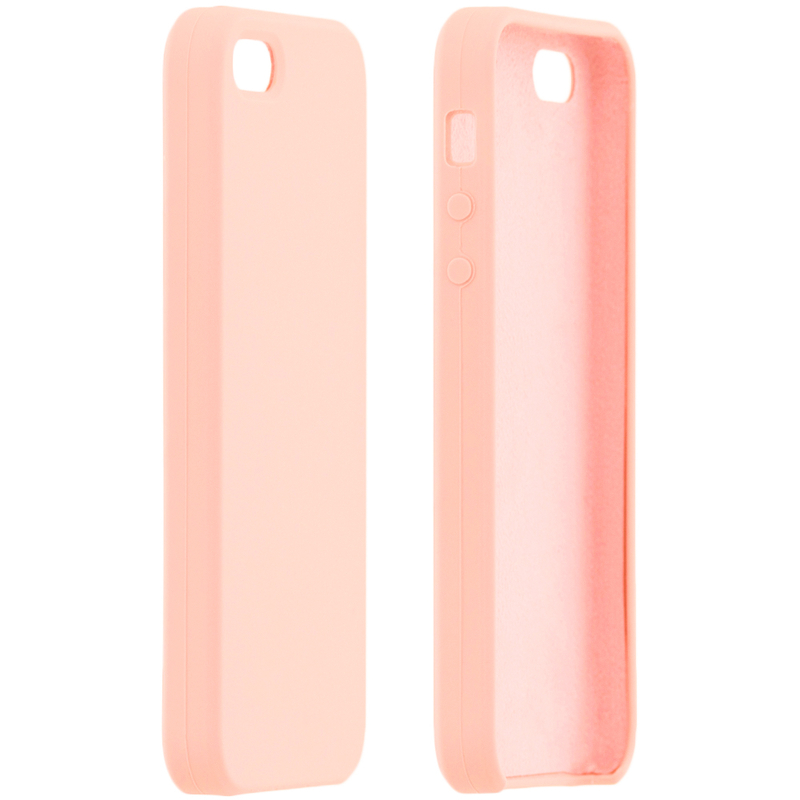 Husa iPhone 5 / 5s / SE Silicon Soft Touch - Roz