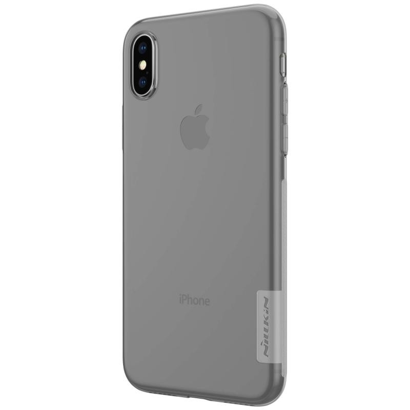 Husa iPhone XS Nillkin Nature UltraSlim Fumuriu