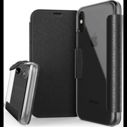 Husa Apple iPhone XS X-Doria Engage Folio - Negru