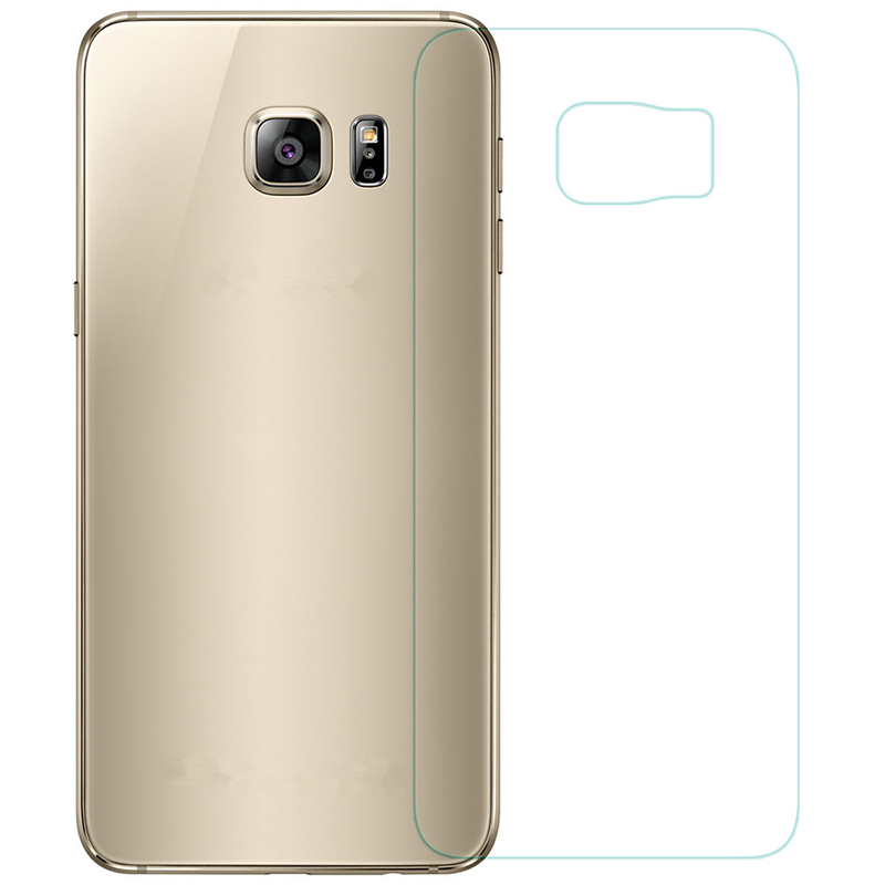 Folie Protectie Spate Samsung Galaxy A6 Plus 2018  - Clear