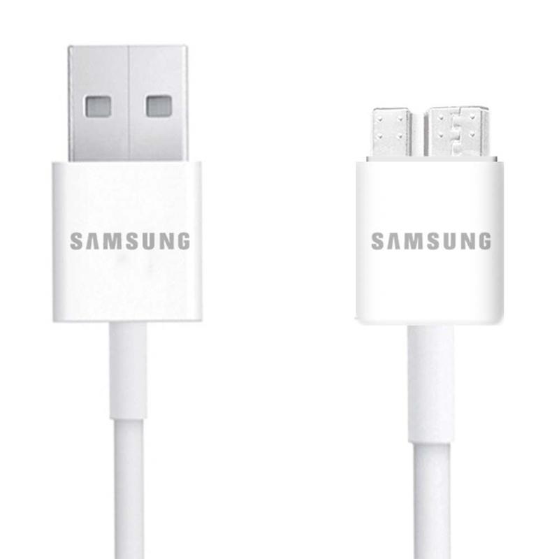Cablu de date Original Samsung ET-DQ11Y1WE Micro-USB 3.0 1.0M 2.0A Alb Bulk