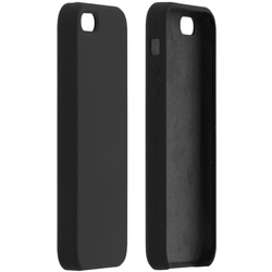 Husa iPhone 5 / 5s / SE Silicon Soft Touch - Negru