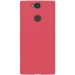 Husa Sony Xperia XA2 Plus Nillkin Frosted Red