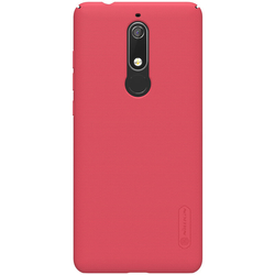 Husa Nokia 5.1 2018 Nillkin Frosted Red