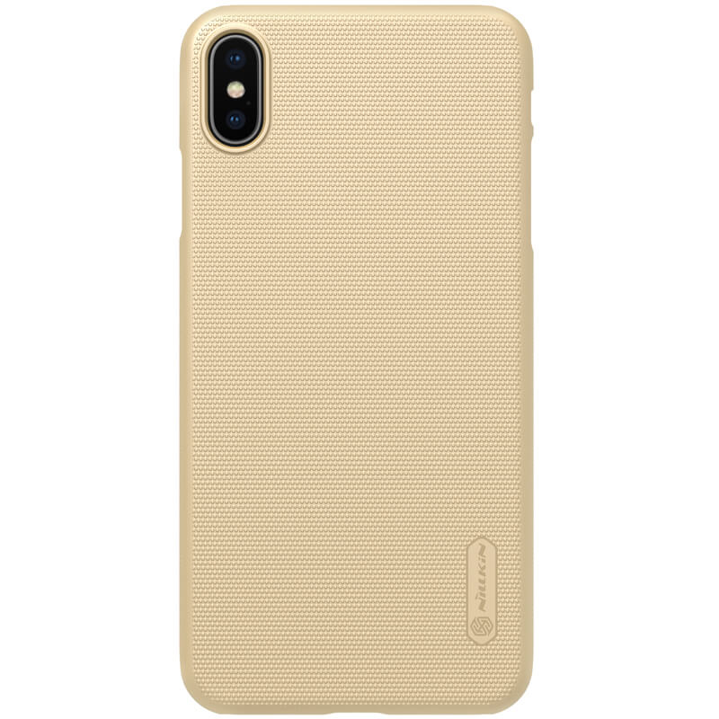 Husa iPhone XS Max Nillkin Frosted Gold