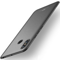 Husa Xiaomi Mi Max 3 MSVII Ultraslim Back Cover - Black