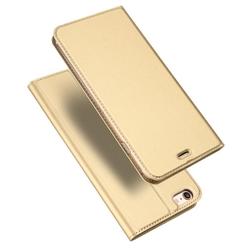Husa iPhone 6 / 6S Dux Ducis Flip Stand Book - Auriu