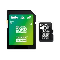 Card de memorie GOODRAM Micro SDXC UHS I U3 Class 10 32 GB UHS-I + Adaptor SD