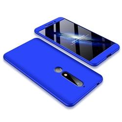 Husa Nokia 6.1 2018 GKK 360 Full Cover Albastru