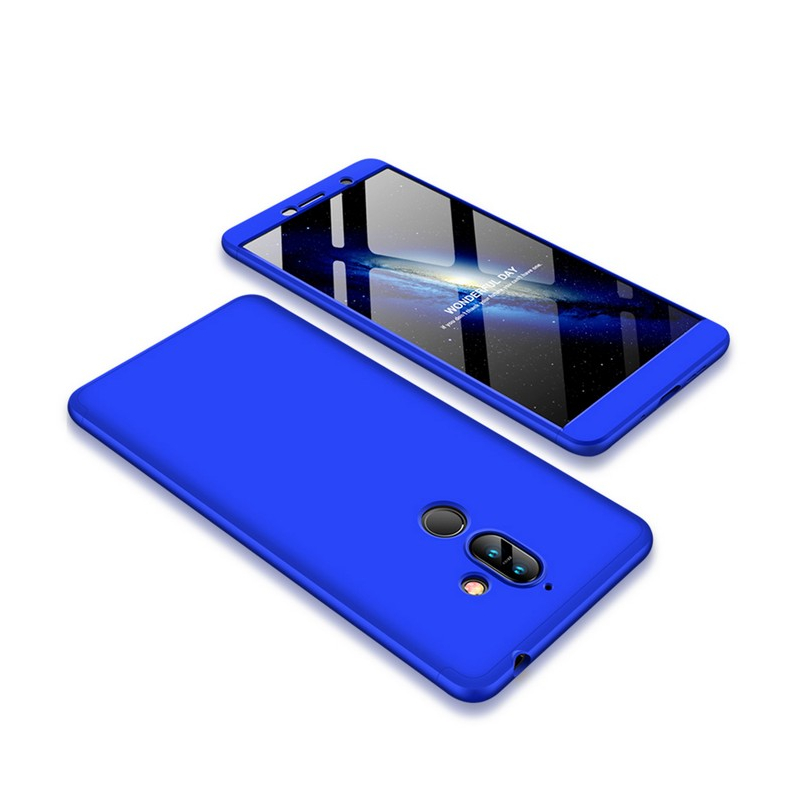 Husa Nokia 7 Plus GKK 360 Full Cover Albastru