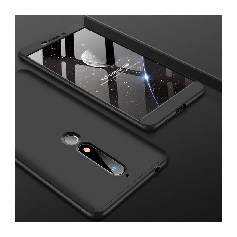 Husa Nokia 6 (2018) GKK 360 Full Cover Negru
