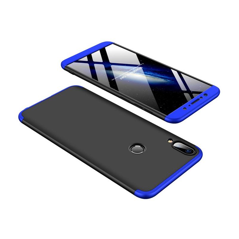Husa Asus Zenfone Max Pro (M1) ZB601KL GKK 360 Full Cover Negru-Albastru
