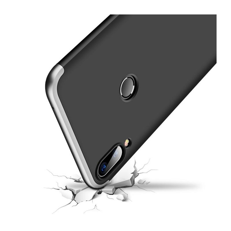 Husa Asus Zenfone Max Pro (M1) ZB601KL GKK 360 Full Cover Negru-Argintiu
