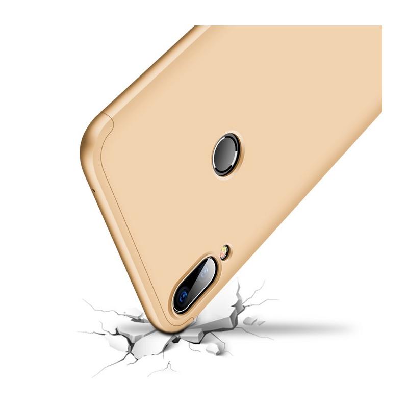 Husa Asus Zenfone Max Pro (M1) ZB601KL GKK 360 Full Cover Auriu